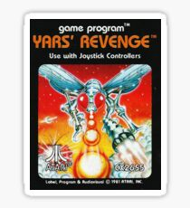 Yars' Revenge Cartridge Artwork Sticker
