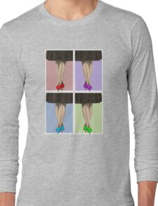 Vibrant Shoes Long Sleeve T-Shirt