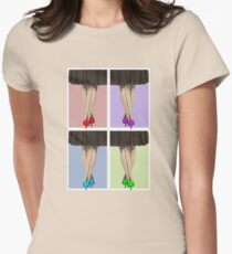 Vibrant Shoes Women's Fitted T-Shirt