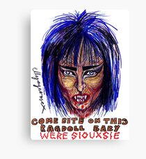 Were Siouxsie Canvas Print