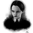 Wednesday Addams by stevencraigart