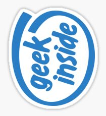 Geek Inside Sticker