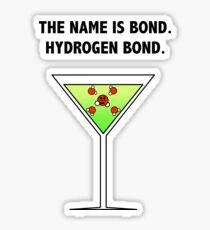 Bond, Hydrogen Bond. Sticker