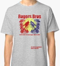 usa indians energy drink by rogers bros Classic T-Shirt
