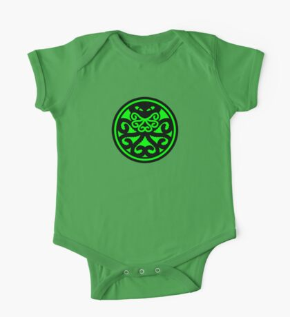 Hail Cthulhu (filled) Kids Clothes