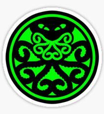Hail Cthulhu (filled) Sticker