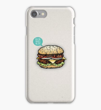 Epic Burger! iPhone Case/Skin
