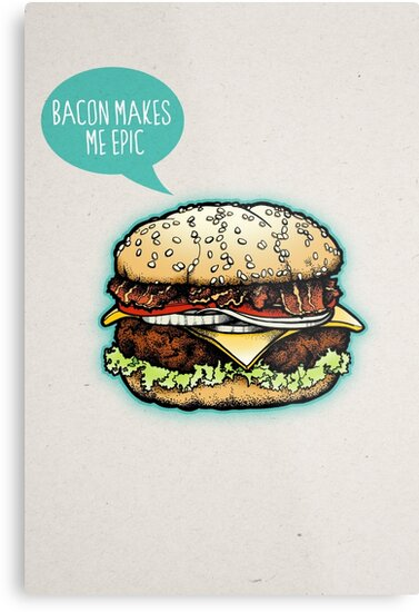 Epic Burger! by rubyred
