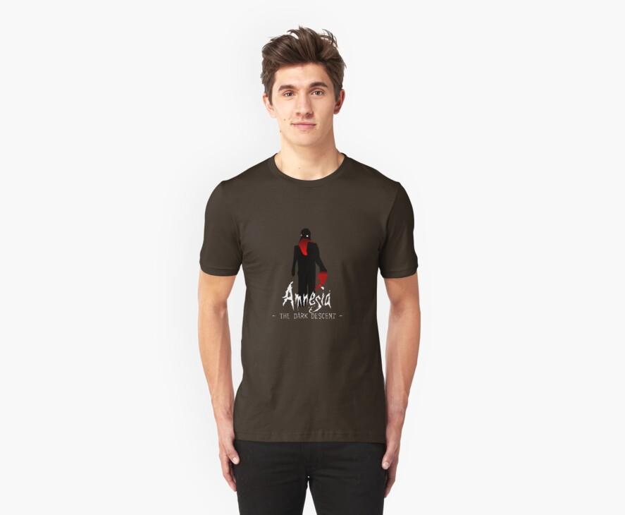 Amnesia: The Dark Descent T-shirt by astr0nomer