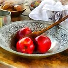Apples in a Silver Bowl by Susan Savad