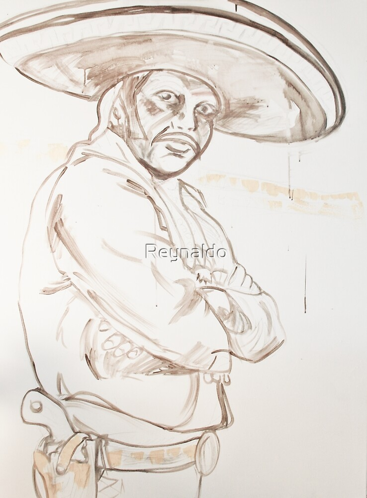 Starting A Portrait by Reynaldo