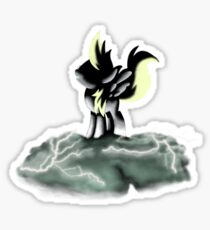The Great and Powerful Derpy! Sticker