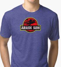 Jurassic Sushi Tri-blend T-Shirt