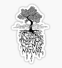 Creativity is Rooted In Nature Sticker