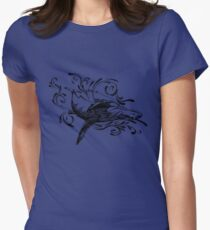 Whales  Women's Fitted T-Shirt