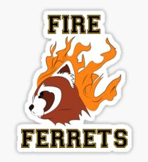 Fire Ferrets Sticker