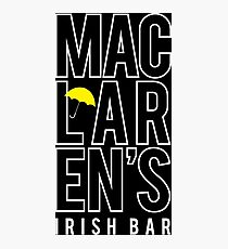 MacLaren's Irish Bar Photographic Print