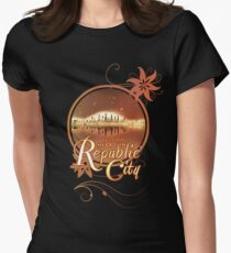 Lost My Heart In Republic City Women's Fitted T-Shirt