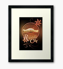 Lost My Heart In Republic City Framed Print
