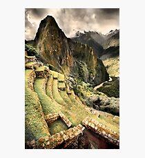 Machu Piccu Magic Photographic Print