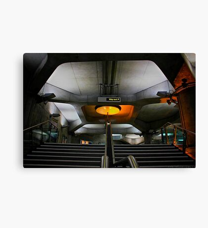 space shuttle or london underground? Canvas Print
