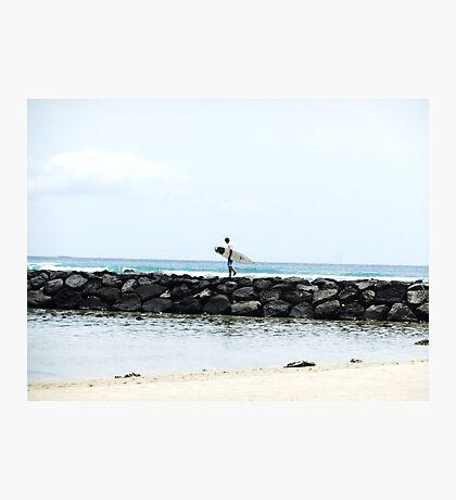 Wandering Surfer Photographic Print