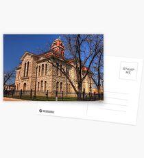 Lampasas County Courthouse - Lampasas, Texas Postcards