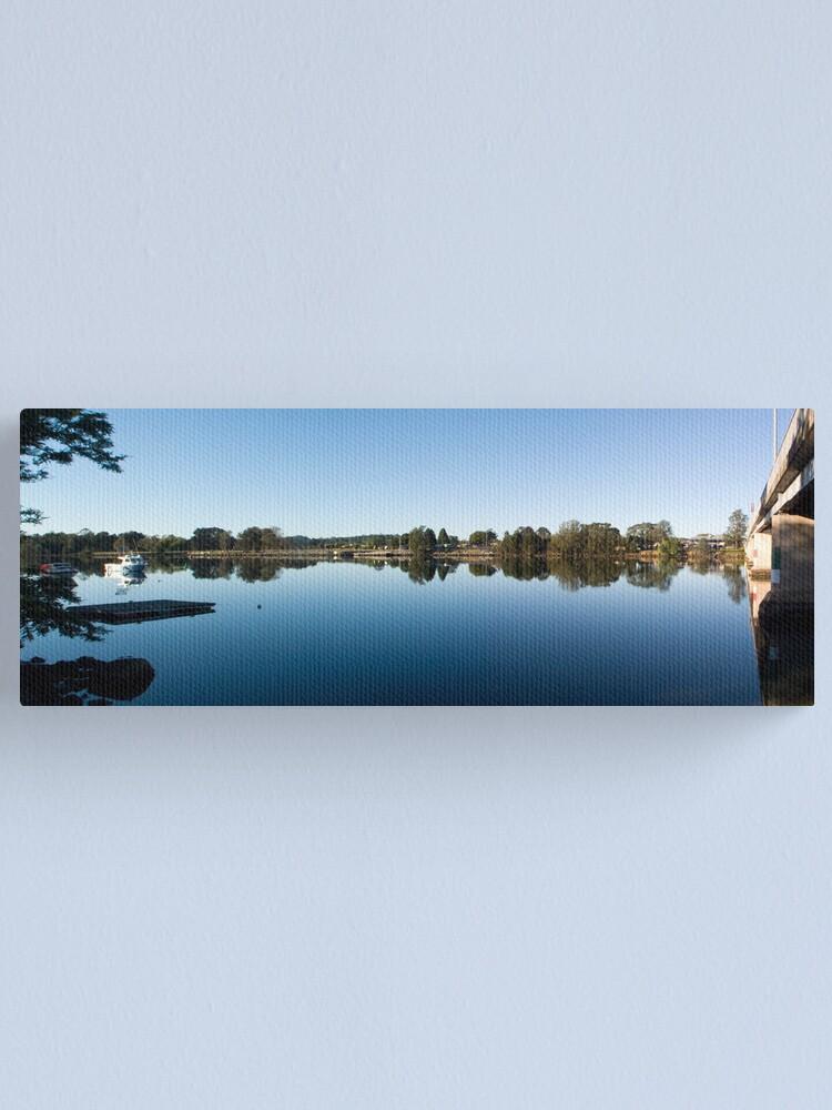 Alternate view of Moruya Panorama Canvas Print