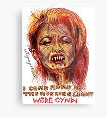 Were Cyndi Metal Print