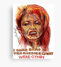 Were Cyndi Canvas Print