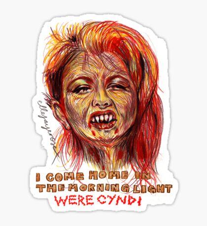 Were Cyndi Sticker