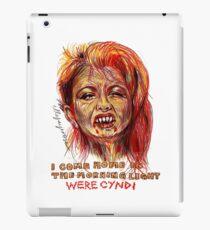 Were Cyndi iPad Case/Skin