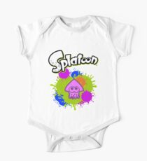Splatoon Squid - Colour Purple One Piece - Short Sleeve
