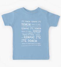 ROMANI ITE DOMUM Kids Tee