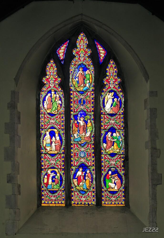 Stained Glass window by JEZ22