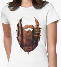 Autumn Beard Womens Fitted T-Shirt
