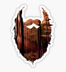 Autumn Beard Sticker