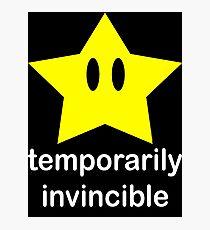 Temporarily Invincible Photographic Print