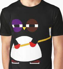 Hockey penguin Graphic T-Shirt