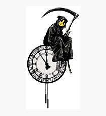 banksy - grin reaper Photographic Print