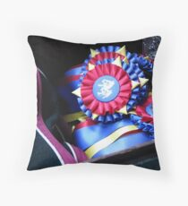 The Trophy Drawer Throw Pillow