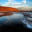 "Red Bluff ""Waterfall"" - Kalbarri by John Pitman"