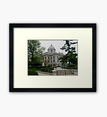 Courthouse Bloomington Indiana Framed Print