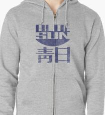 Blue Sun Vintage Style Shirt (Firefly/Serenity) Zipped Hoodie