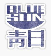 Blue Sun Vintage Style Shirt (Firefly/Serenity) Sticker