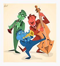 Jazz Trio Photographic Print