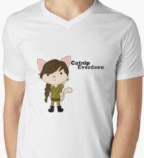 Catnip Everdeen Men's V-Neck T-Shirt
