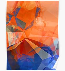 Abstract Polygons 30 Poster