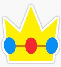 Super Mario Peach Icon Sticker