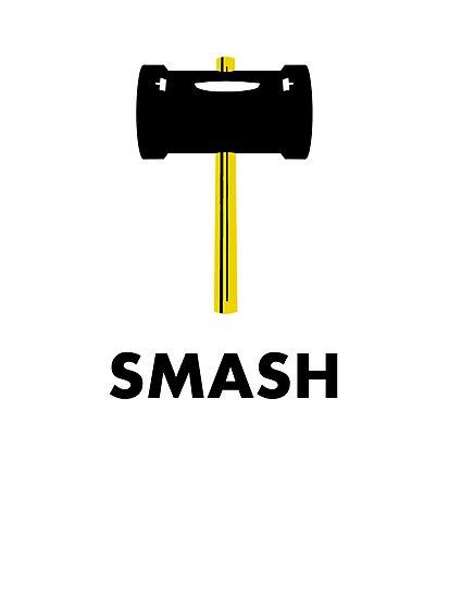 Super Smash Hammer by vintageham